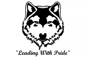 Leading With Pride Wolfhead